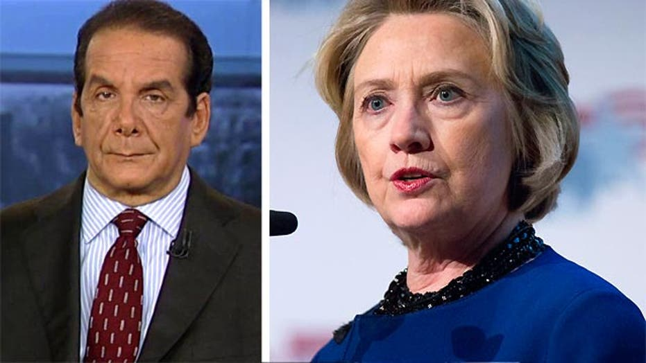 Krauthammer: Clinton Foundation emails were likely deleted