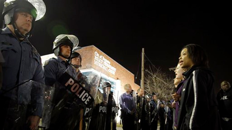 New anti-cop protests strain city budgets as costs mount