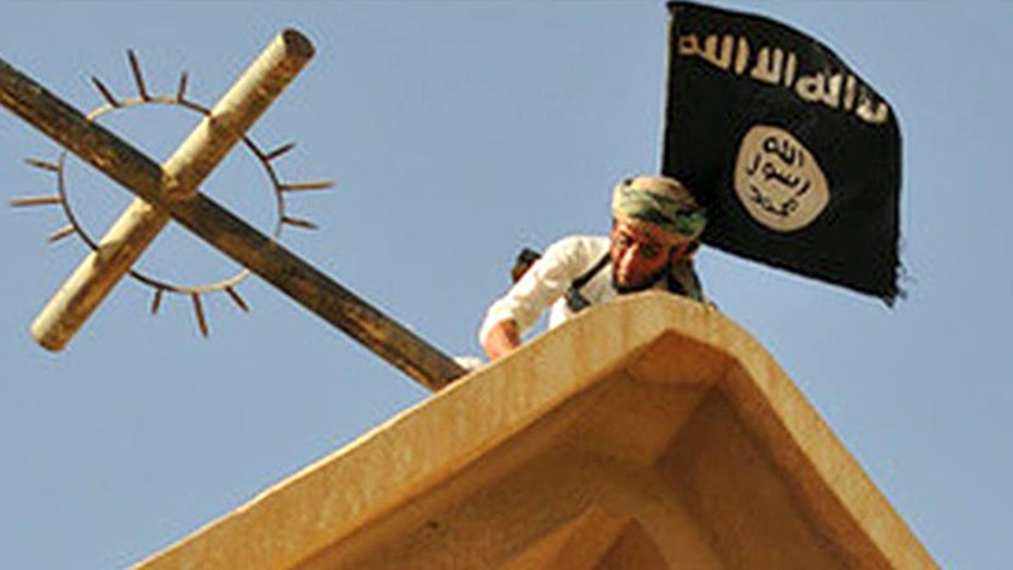 Photos purport to show ISIS destroying churches in Iraq