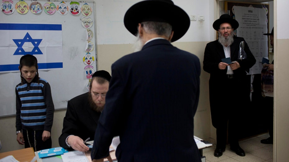 Israelis head to the polls for national election
