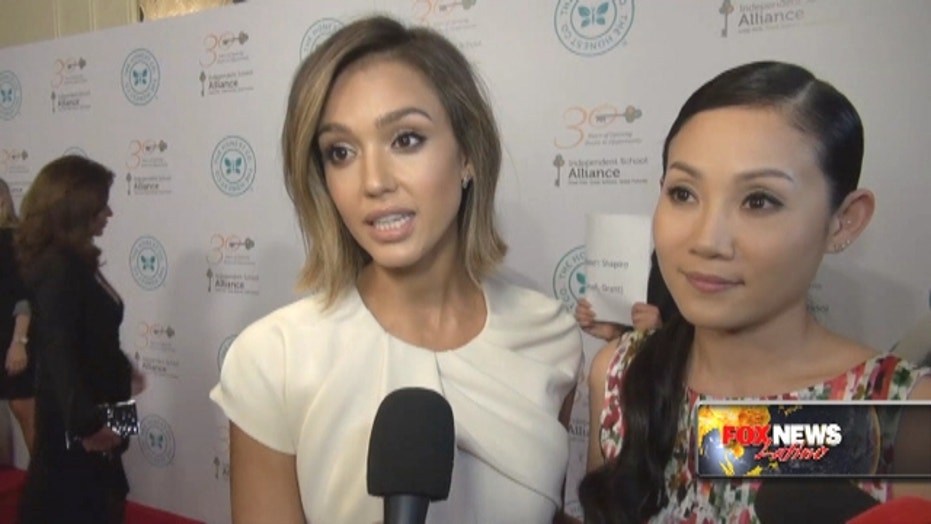 Jessica Alba talks about philanthropy, her Honest Co.