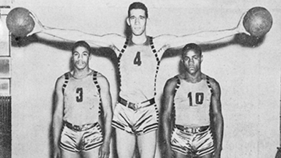 Black vs White: Historic college basketball game kept secret