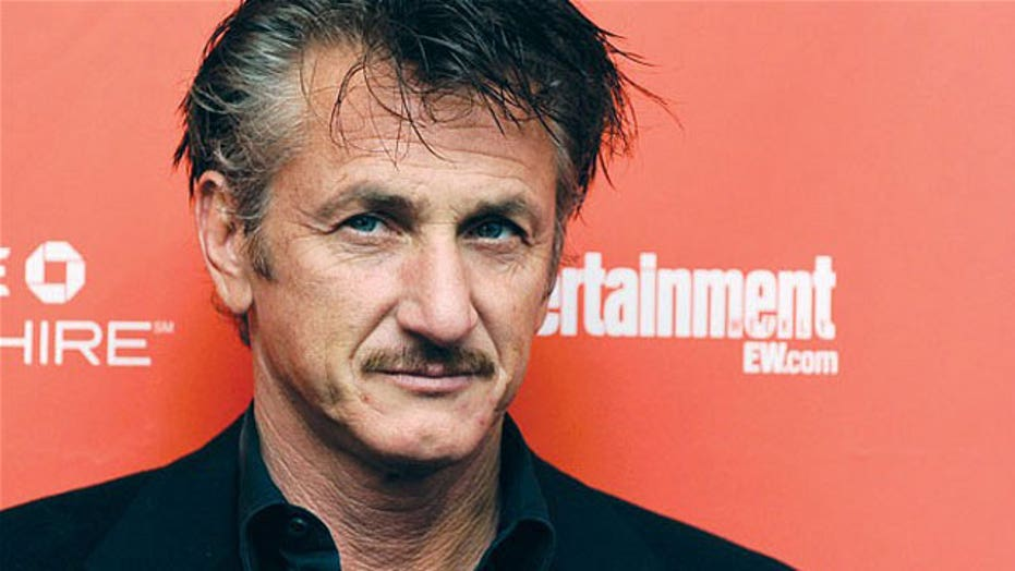 Sean Penn blaming the rise of ISIS on the Bush admin