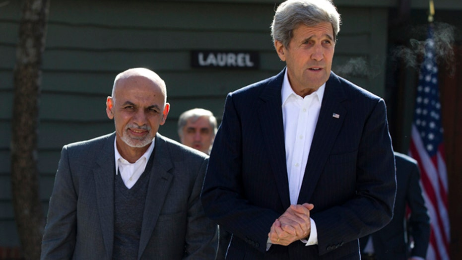 Can the US work with Afghan President Ashraf Ghani?