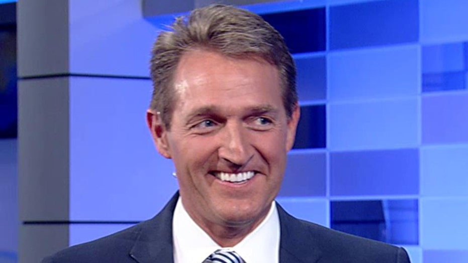 Sen. Jeff Flake sounds off on annual 'Tournament of Waste'