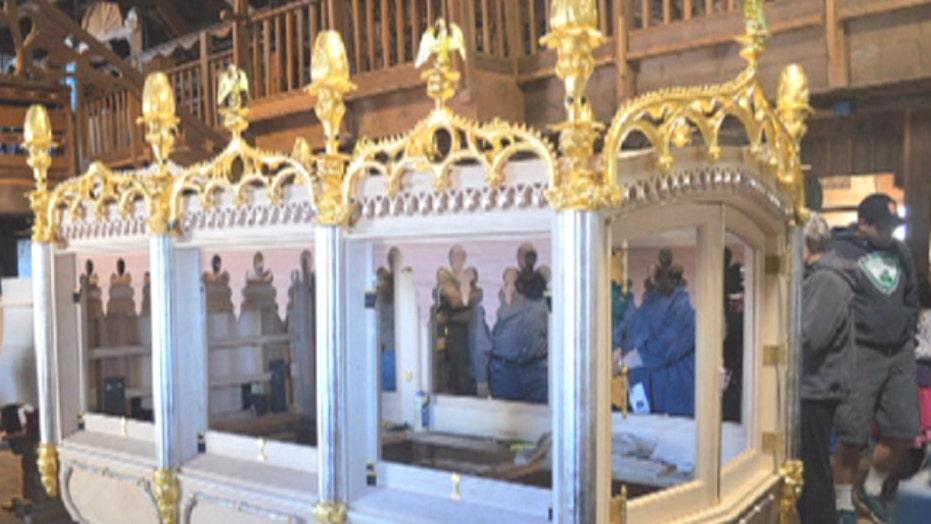 Combat veterans team up to rebuild Lincoln's hearse