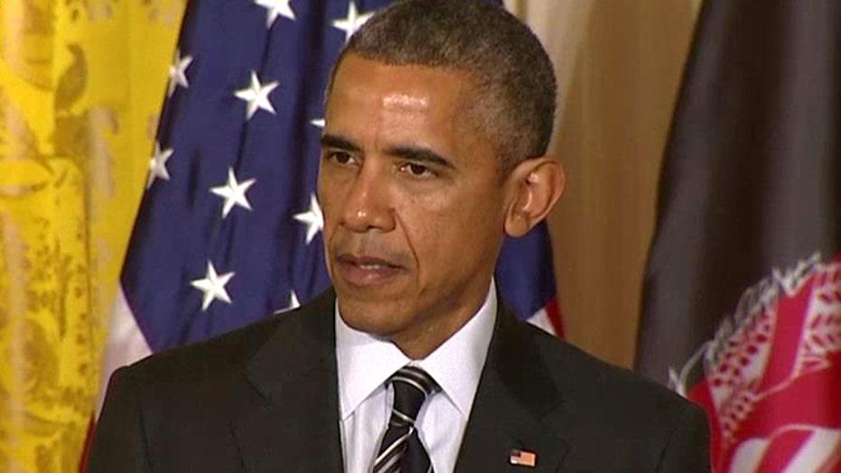 Obama announces slowdown of troop drawdown from Afghanistan
