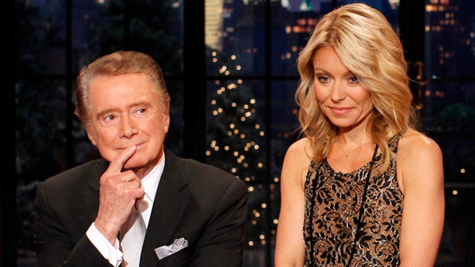 Regis: I don't see Kelly EVER