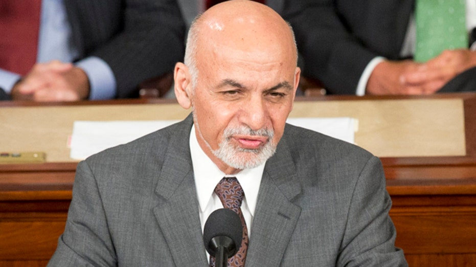 Afghan President Ghani addresses joint meeting of Congress