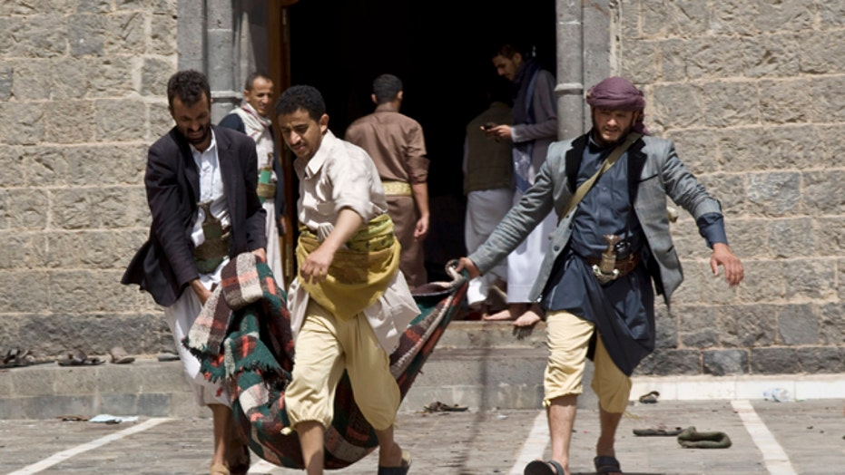 Iran-backed rebels bring Yemen to brink of civil war
