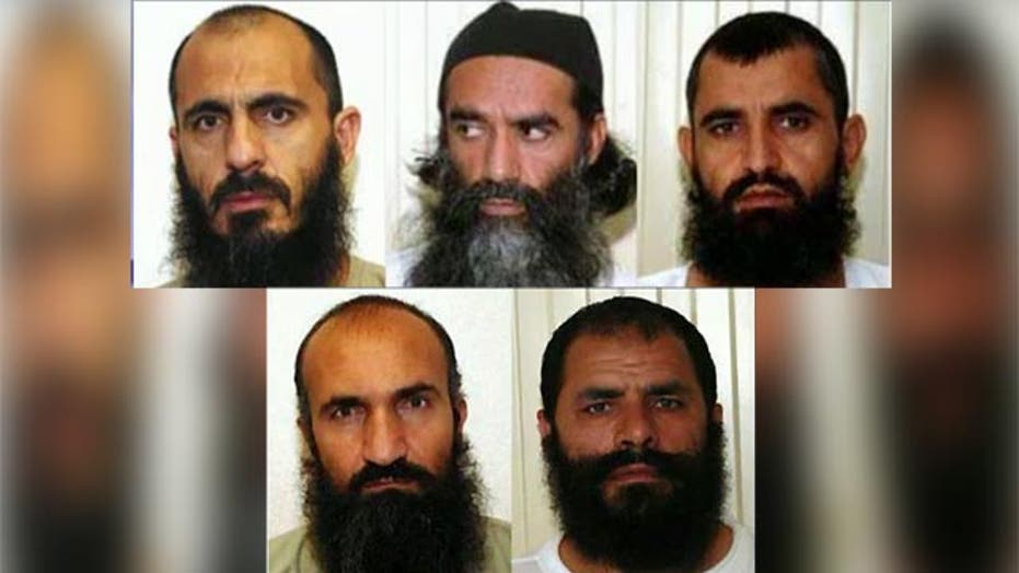 Official: 3 of 'Taliban 5' reconnecting with militants