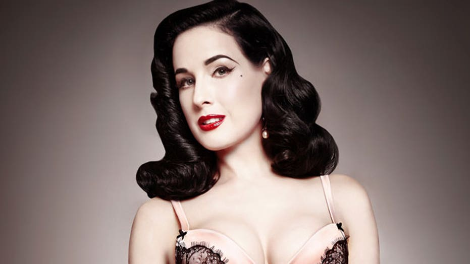 Dita Von Teese on Buying Lingerie for Your Valentine