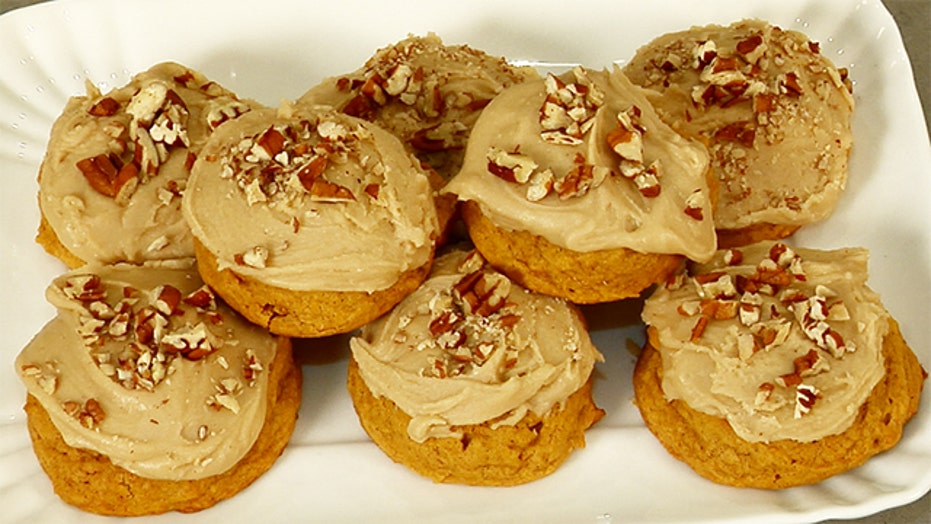 Kelsey Nixon's Pumpkin Penuche Cookies
