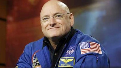 Astronaut's 'year in space' begins