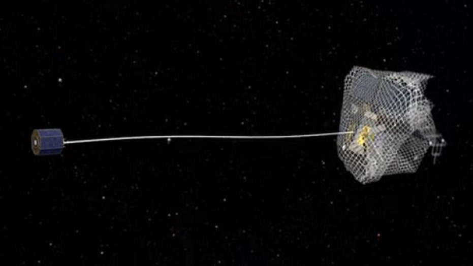 War Games: 'Space nets' used to clean up dangerous debris