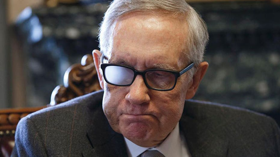 Fallout from Sen. Reid's decision not to seek reelection