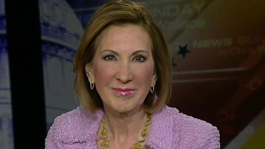 Carly Fiorina on crowded Republican presidential field