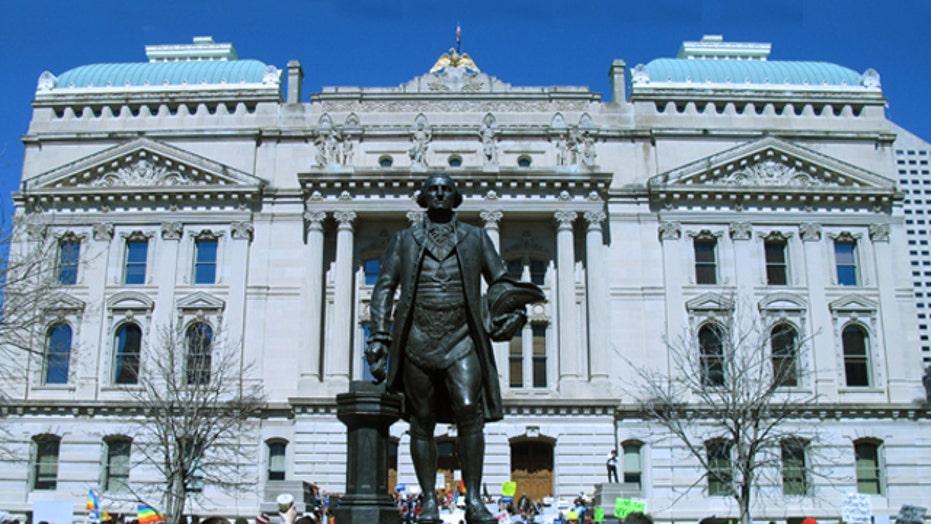 Does Indiana's Religious Freedom Act permit discrimination?