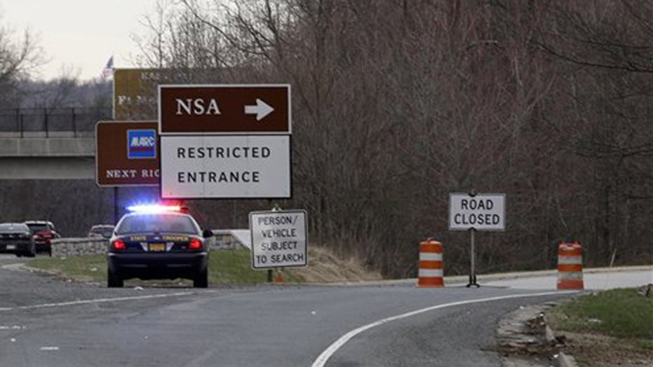 1 dead after driver tries to ram gate at NSA HQ