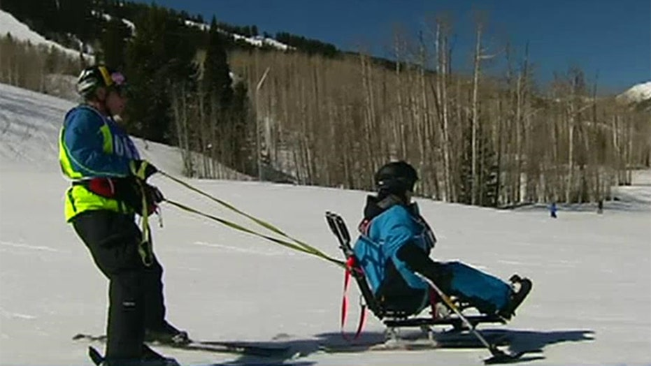 Nearly 350 disabled vets take part in winter sports clinic