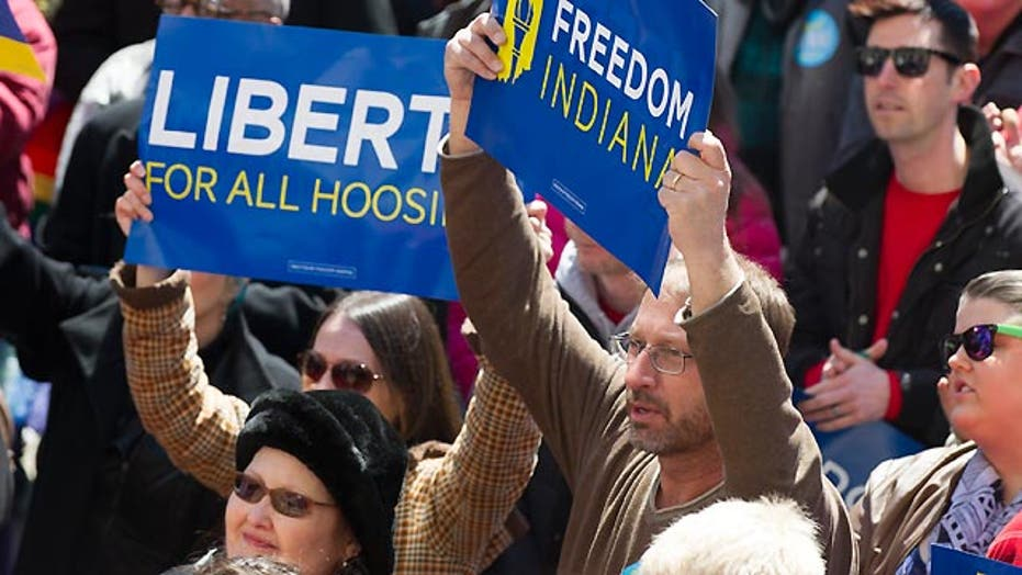 Fallout from Indiana's religious freedom law