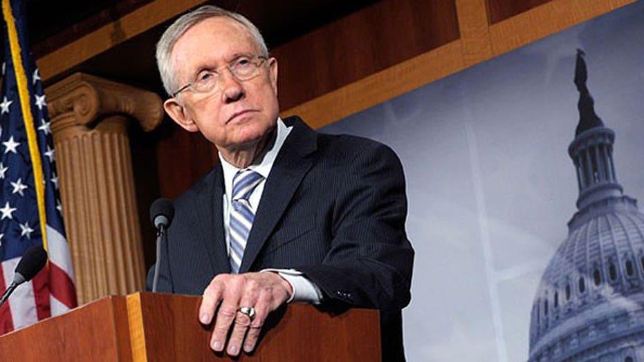 Harry Reid's attack on Romney's tax record