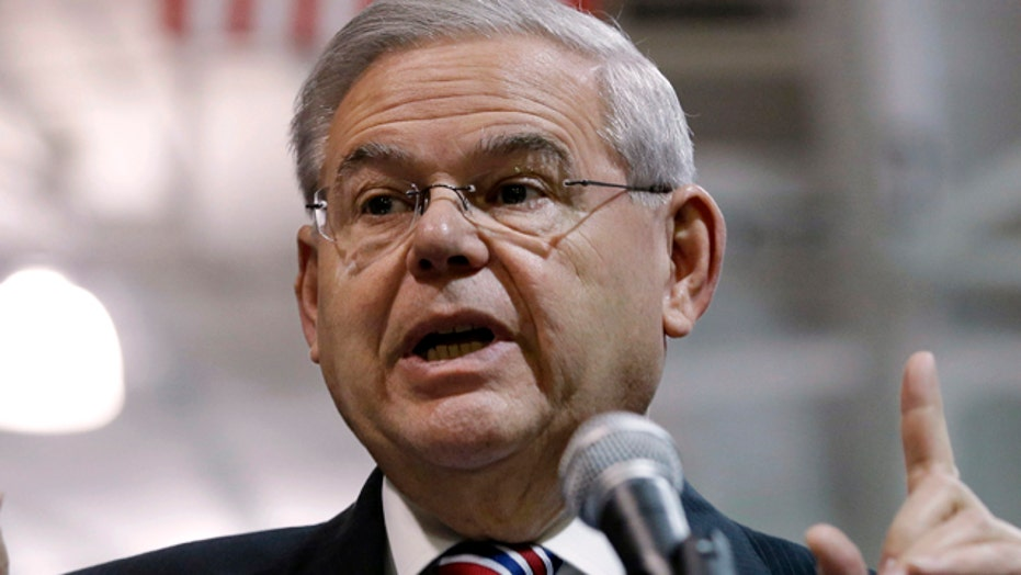 Are charges against Menendez politically motivated?