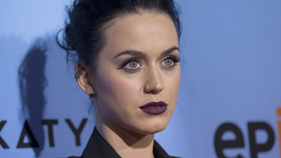 Oops! Katy shares phone number