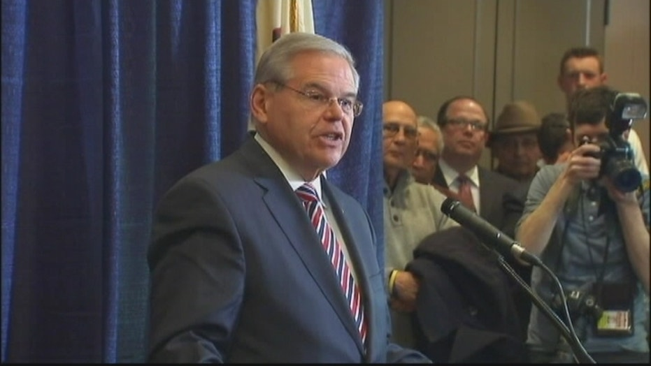 Sen. Bob Menendez vows to fight corruption charges