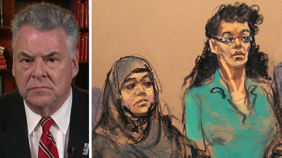 Rep. Peter King reacts to arrests in alleged NYC terror plot