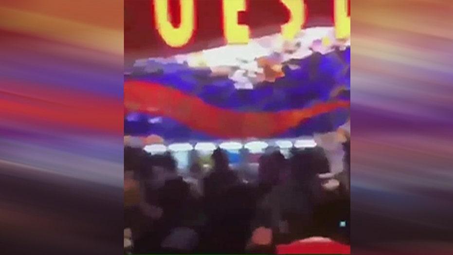 Massive brawl in New York casino