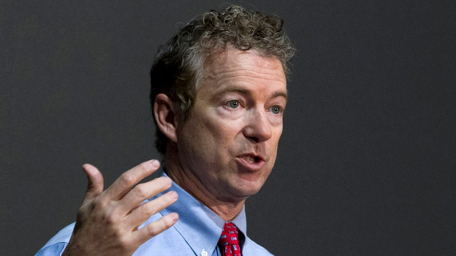 Rand Paul downplaying libertarian roots to appeal to voters?
