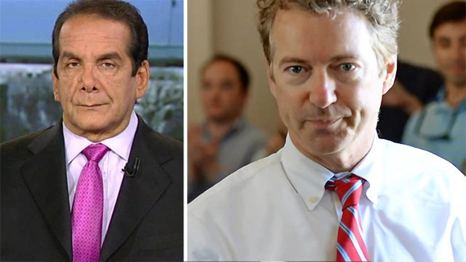 Krauthammer: Rand Paul's Non-Interventionism Walk Back