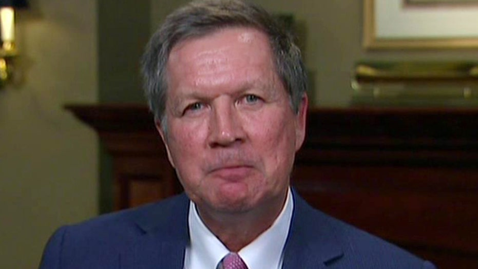 Gov. Kasich says a 'unifying message is essential' for 2016