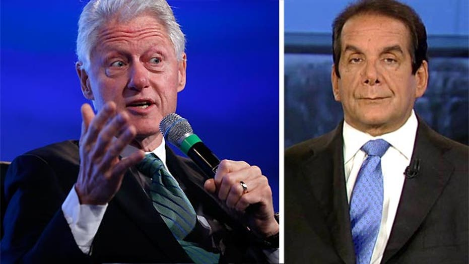 VIDEO: Krauthammer: Bill Clinton in