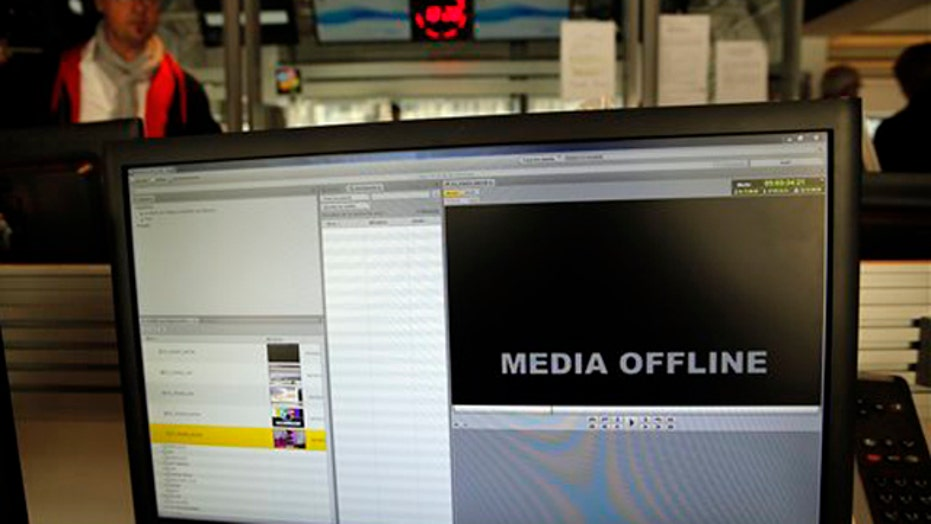 Pro-ISIS hackers take over French TV station