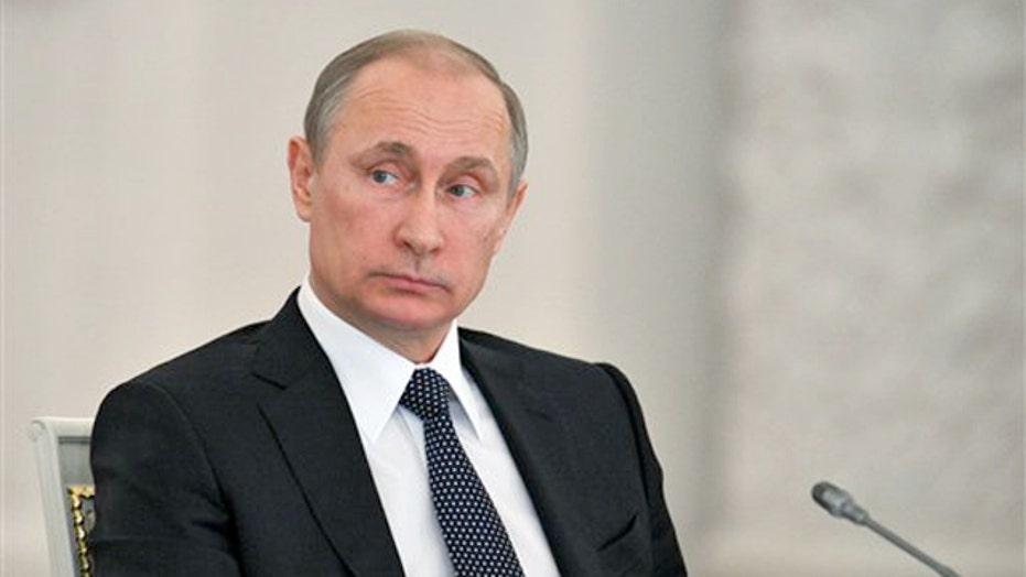 Keane: Putin reminding world of Russia's military power