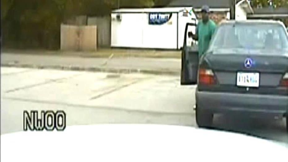 Dash cam video of traffic stop before fatal police shooting