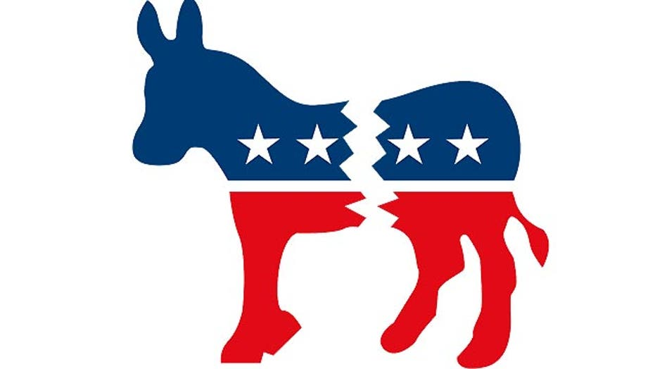 Signs of divide in the Democratic Party