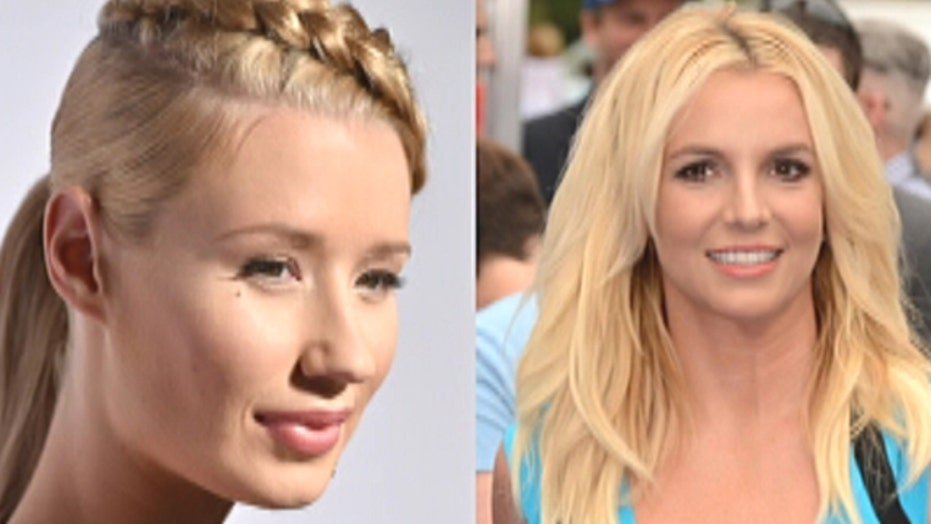 Iggy and Britney do Britney and Madonna