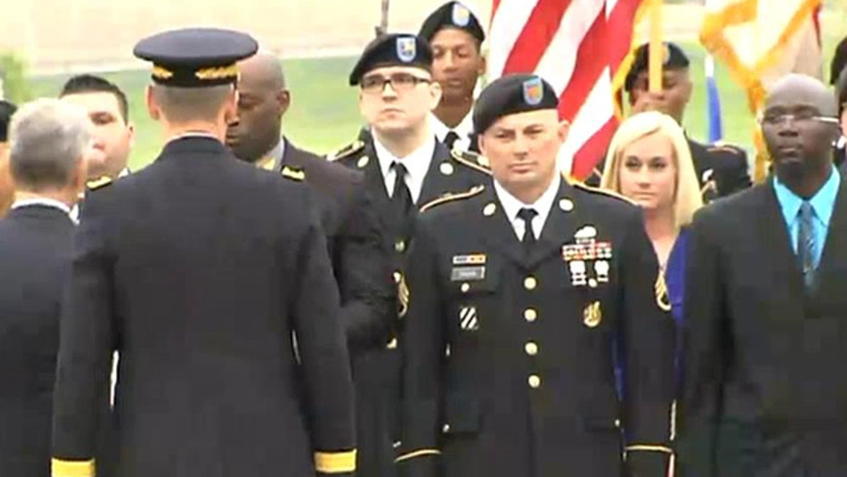 Purple Heart ceremony 'deeply symbolic' for Ft. Hood victims