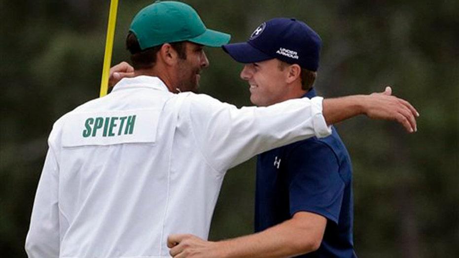 Jordan Spieth wins the Masters golf tournament