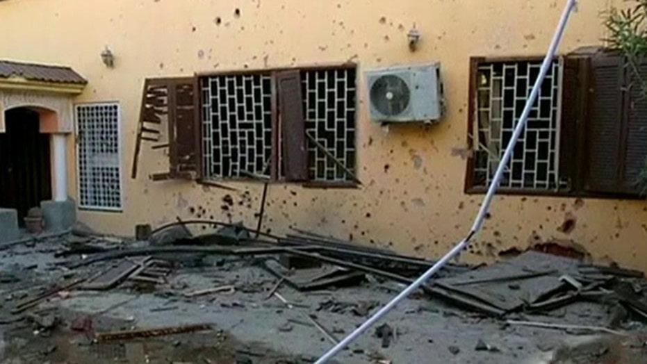 Militants loyal to ISIS claim attacks on embassies in Libya