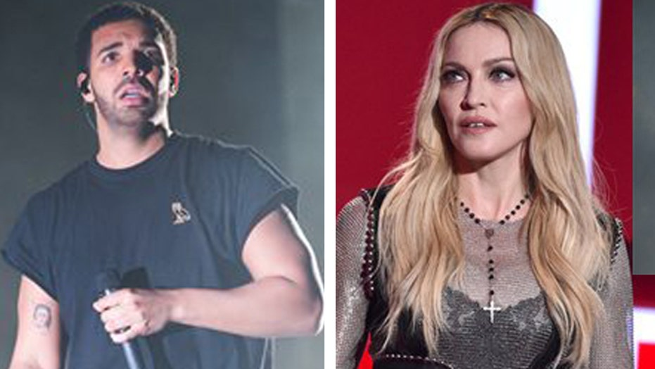 Drake no fan of Madonna's kissing
