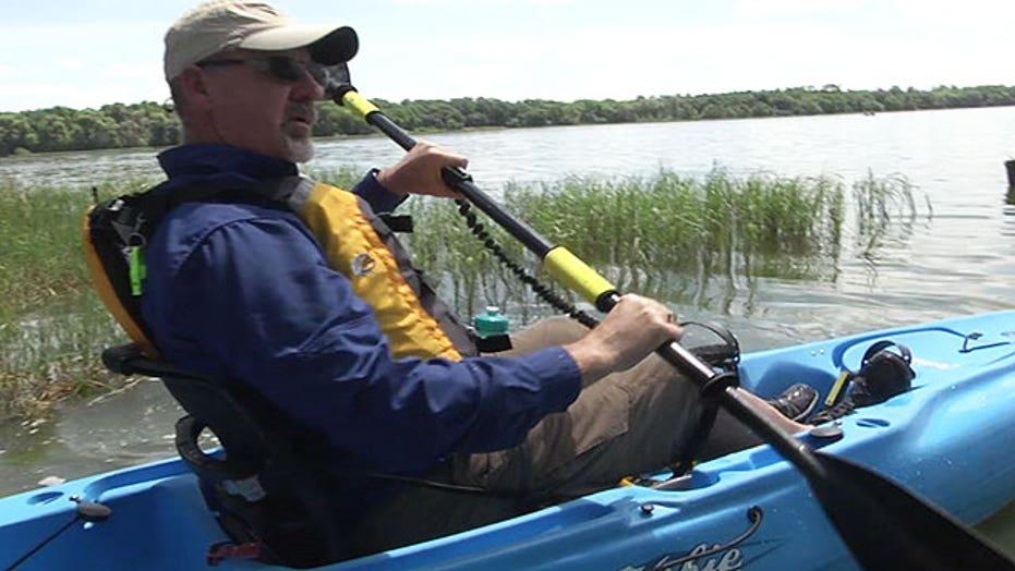 Blind Army Veteran is full time adventurer thanks to the VA