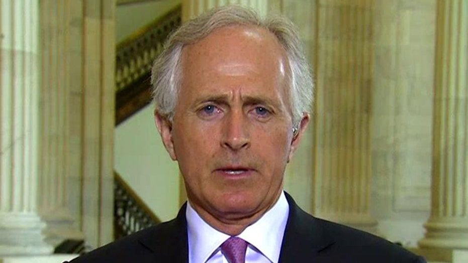 Sen. Corker makes case for bill on Iran nuclear deal