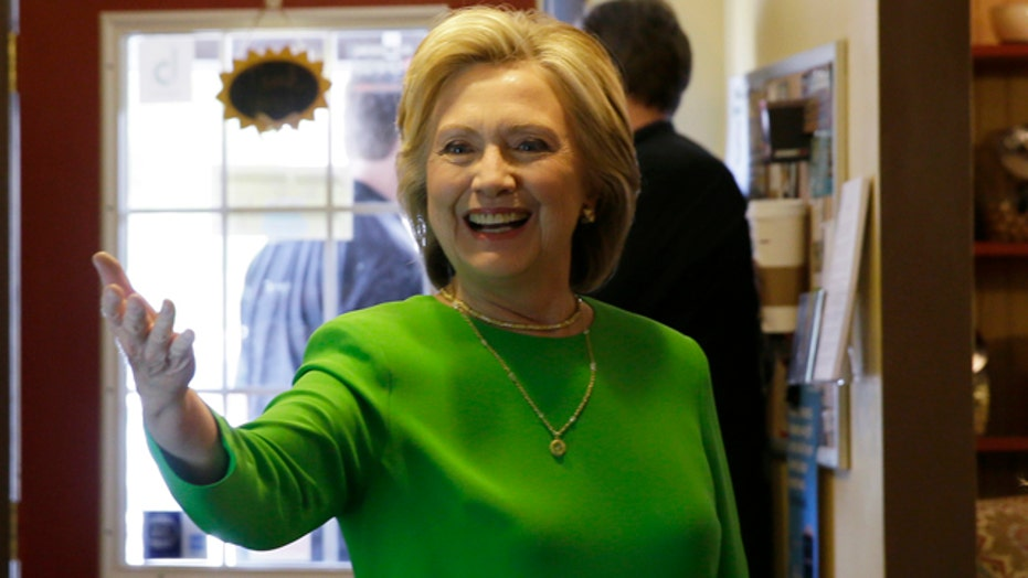 Hillary Clinton campaign opens to media circus in Iowa