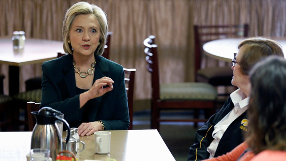 Will Clinton's second chance in Iowa work?