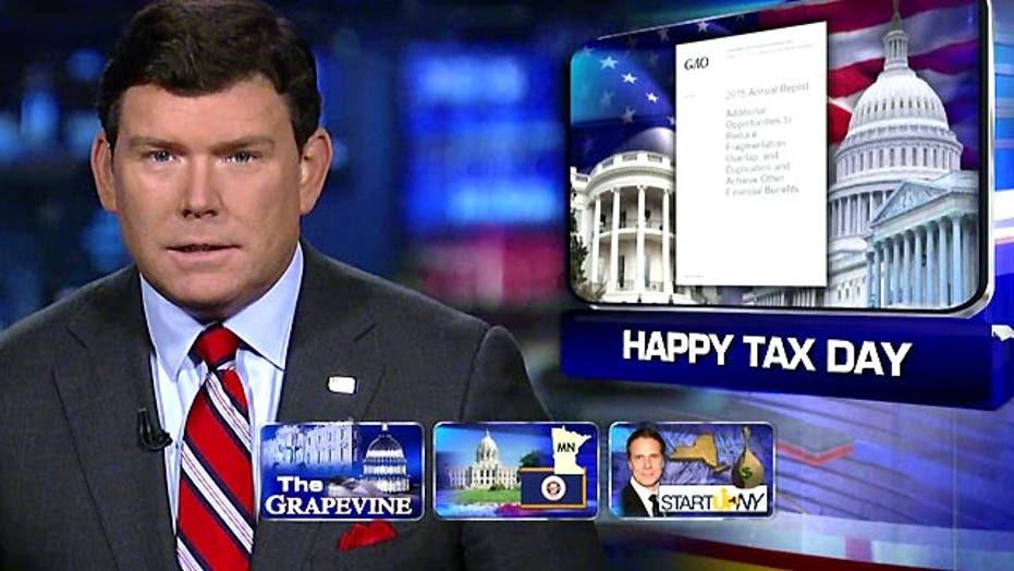 Grapevine: Happy tax day