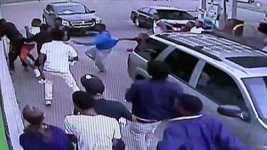 Good Samaritan brutally beaten by mob of teens speaks out